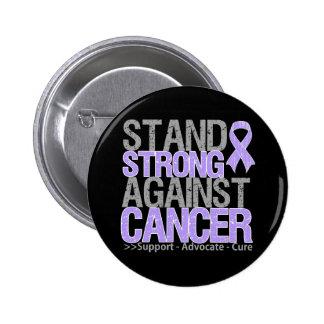 Soporte fuerte contra general Cancer Pin Redondo De 2 Pulgadas