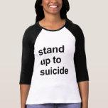 soporte hasta suicidio camiseta