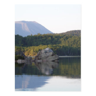 Soporte Katahdin del lago rainbow Tarjetas Postales