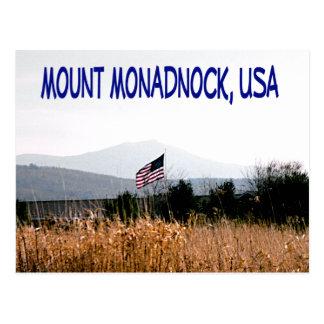 Soporte Monadnock los E.E.U.U. Postales