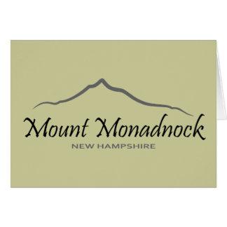 Soporte Monadnock Tarjeta De Felicitación