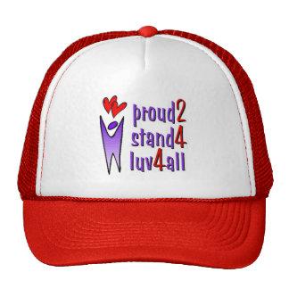 Soporte para el gorra del amor