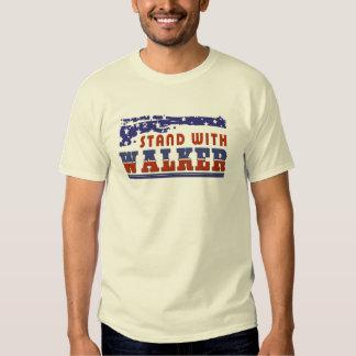 Soporte patriótico con el caminante de Scott Playeras
