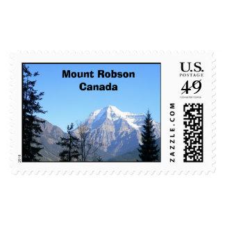 Soporte Robson Canadá Sello Postal