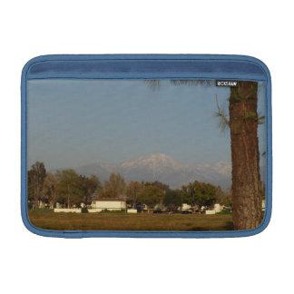 Soporte San Gorgonio con nieve Funda MacBook