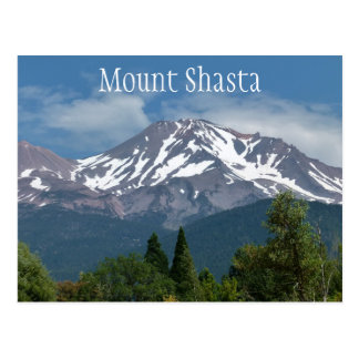 Soporte Shasta California Tarjetas Postales