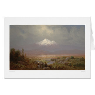 Soporte Shasta y lago Shastina (1151) Tarjeta De Felicitación