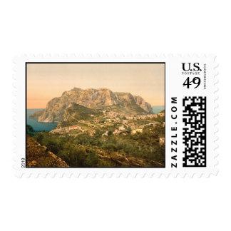 Soporte Solaro, isla de Capri, Campania, Italia Franqueo