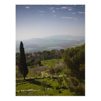 Soporte Tabor, sitio de la transfiguración bíblica Postales