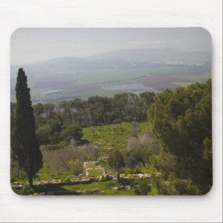 Soporte Tabor, sitio de la transfiguración bíblica Tapetes De Ratón