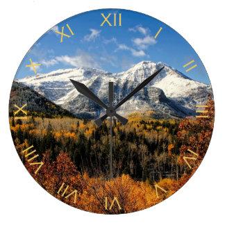 Soporte Timpanogos en las montañas de Utah del Relojes