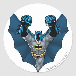 Soportes de Batman Pegatina Redonda