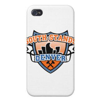 Soportes del sur Denver Fancast iPhone 4/4S Fundas
