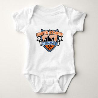 Soportes del sur Denver Fancast Mameluco De Bebé
