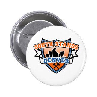Soportes del sur Denver Fancast Pin Redondo 5 Cm