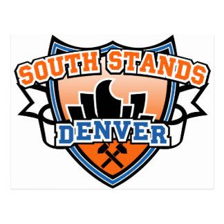 Soportes del sur Denver Fancast Postales