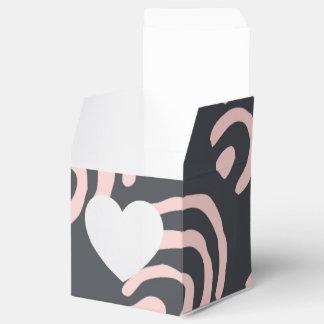 Soportes redondeados del gris rosado de X Cajas Para Regalos De Fiestas