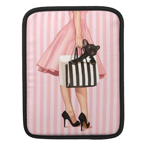 Sopping in the fifties iPad sleeves
