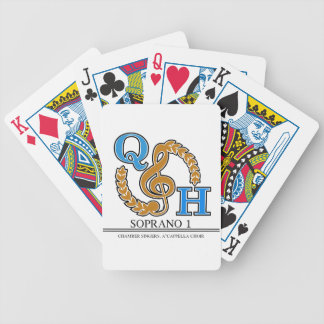 Soprano 1 - Chambers, A'Capella Bicycle Playing Cards