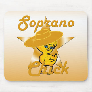 Soprano Chick #10 Mouse Pad