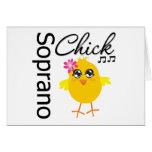 Soprano Chick Greeting Card