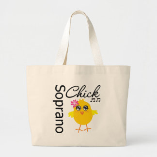 Soprano Chick Jumbo Tote Bag