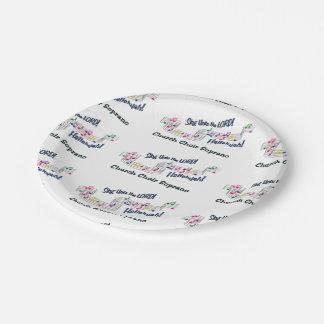 Soprano CN Paper Plate