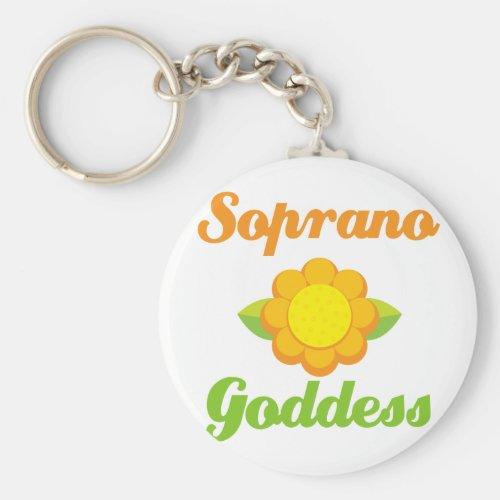 Soprano Goddess Keychain