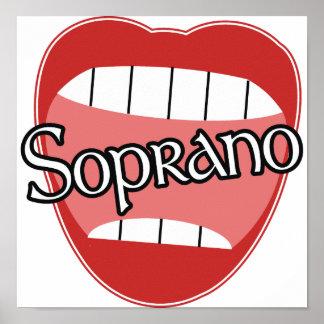 Soprano Poster