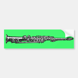 Soprano Sax Bumper Stickers