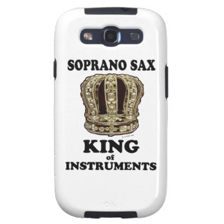Soprano Sax King of Instruments Samsung Galaxy SIII Covers