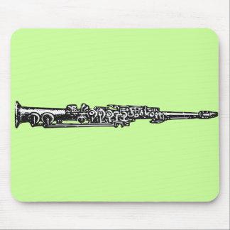 Soprano Sax Mouse Pad
