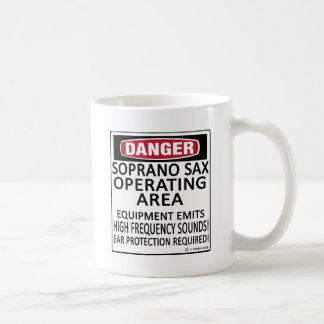 Soprano Sax Operating Area Mug