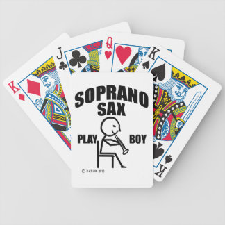 Soprano Sax Play Boy Deck Of Cards