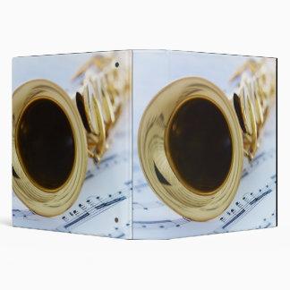 Soprano Saxophone 3 Ring Binders