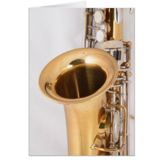 Soprano Saxophone Birthday Card