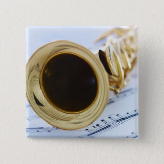 Soprano Saxophone Button