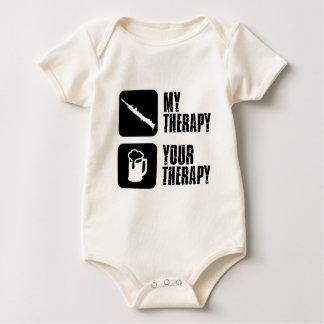 SOPRANO saxophone instrument designs Baby Bodysuit