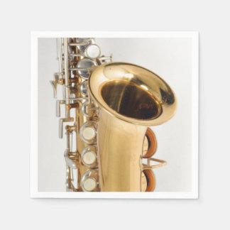 Soprano Saxophone Napkin