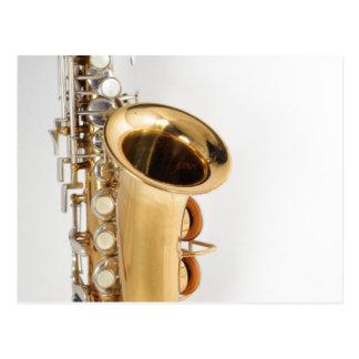 Soprano Saxophone Postcard