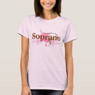Soprano Singer Vocal T-shirt