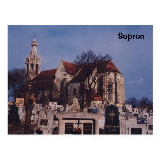 Sopron Tarjeta Postal