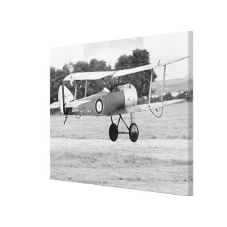 Sopwith Aircraft Taking Off Stretched Canvas Prints