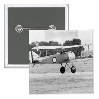 Sopwith Aircraft Taking Off Pinback Button