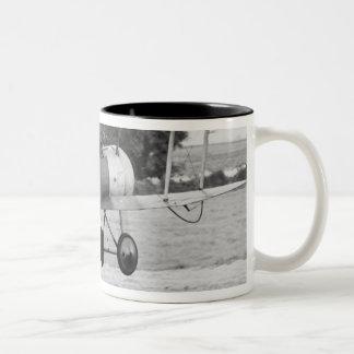 Sopwith Aircraft Taking Off Two-Tone Coffee Mug