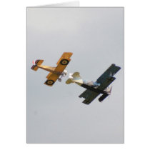 Sopwith Camel and Fokker D.VII Models Card