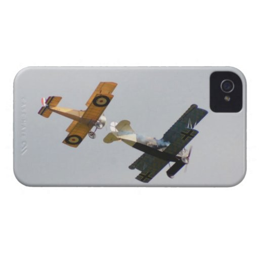 Sopwith Camel and Fokker D.VII Models iPhone 4 Cases
