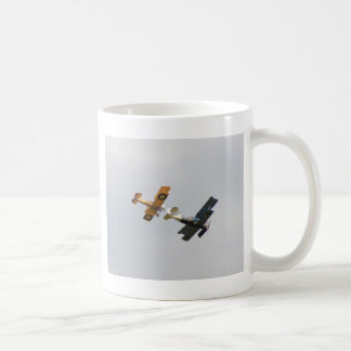 Sopwith Camel and Fokker D.VII Models Classic White Coffee Mug