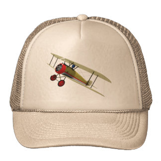 Sopwith Camel and Pilot Trucker Hat
