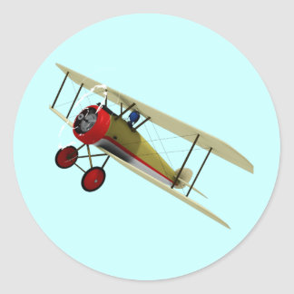 Sopwith Camel and Pilot Sticker